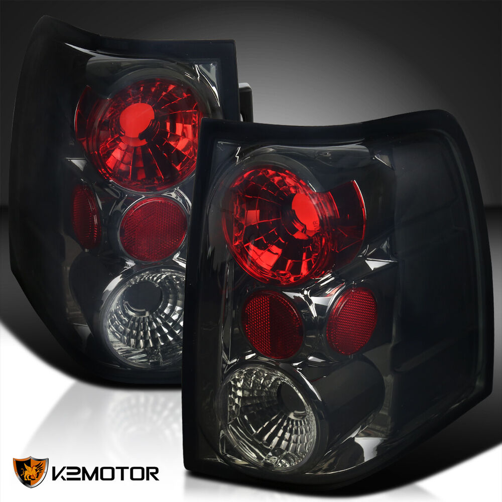 Details About 2003 2006 Ford Expedition Rear Brake Stop Lamp Tail Lights Smoke Replacement L R