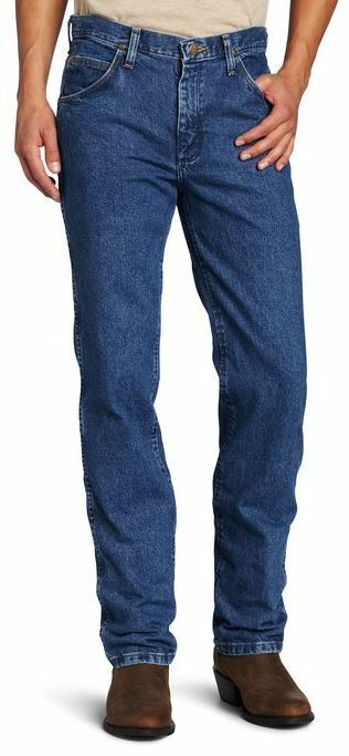 d932af3c Details about WRANGLER 36MWZ-DS COWBOY CUT PREMIUM PERFORMANCE Dark Stone  Washed Jean SLIM FIT