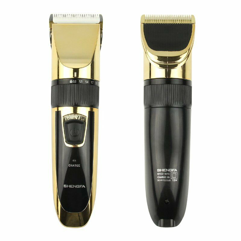 pro men 39 s electric rechargeable shaver razor beard hair clipper trimmer grooming ebay. Black Bedroom Furniture Sets. Home Design Ideas