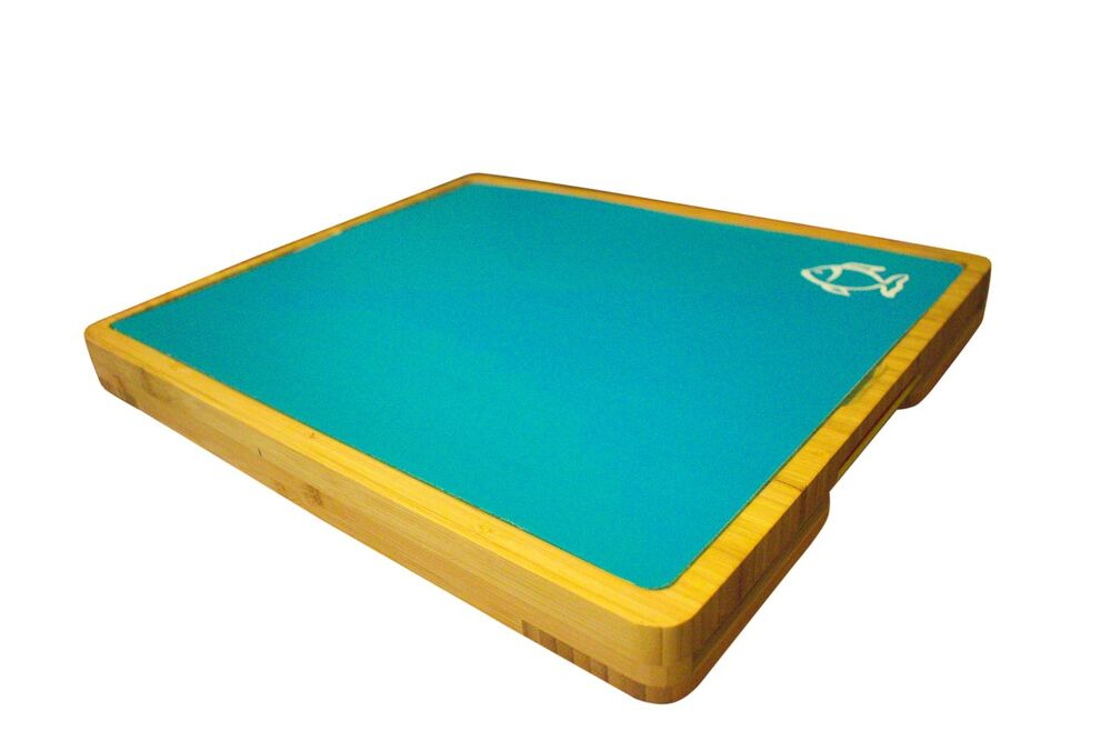 Chopping Board With 5 Flexible Cutting Mats Colour Coded