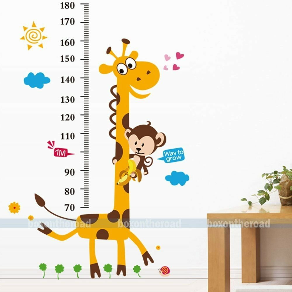 wand tatoo giraffe me latte ma stab wandtattoo wandsticker kinderzimmer baby ebay. Black Bedroom Furniture Sets. Home Design Ideas