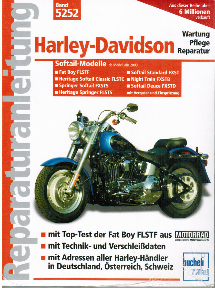 Harley fatboy owners Manual