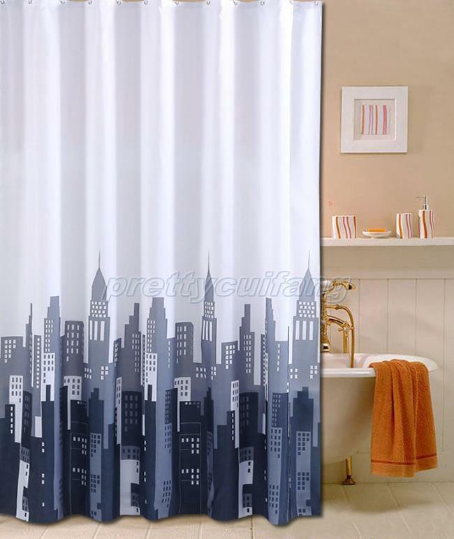 Beautiful Bathrooms Nyc: New York City Picture Design Bathroom Fabric Shower