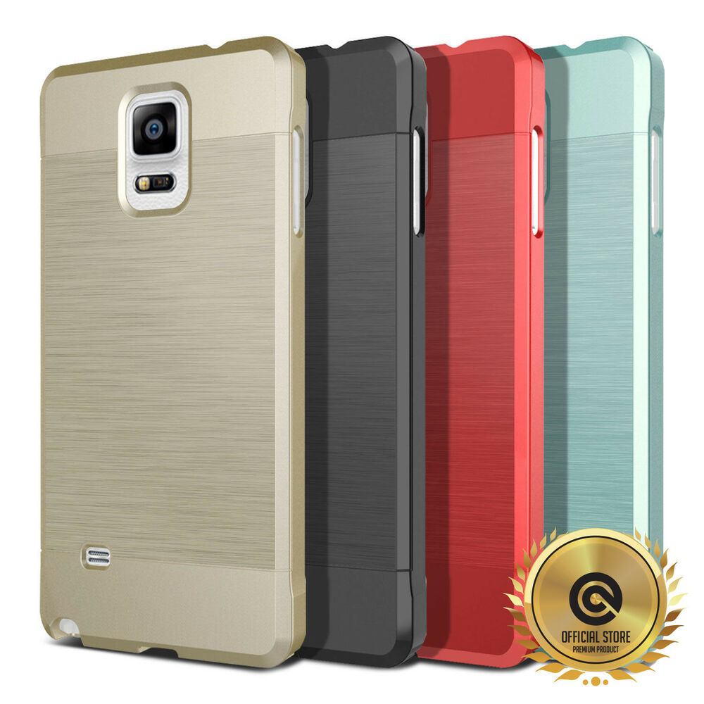 obliq slim meta case ultra thin metallic hard skin for samsung galaxy note 4 ebay. Black Bedroom Furniture Sets. Home Design Ideas