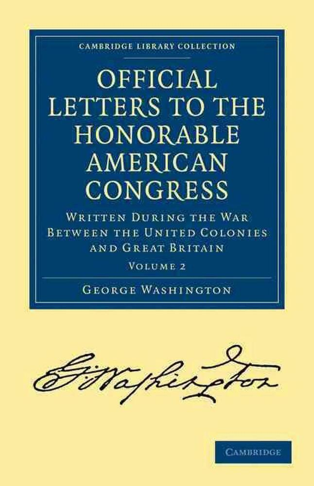NEW Official Letters To The Honorable American Congress By