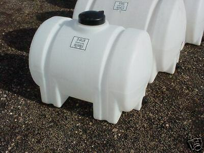 65 Gallon Horizontal Poly Fresh Water Storage Tank Plastic