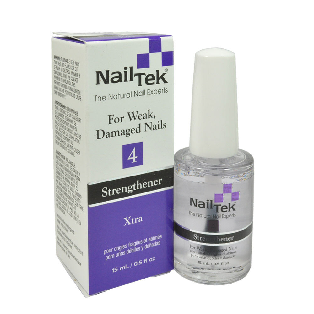 Nail Envy Vs Nail Tek: Nail Tek Xtra 4 For Difficult, Resistant Nails 0.5oz, 15ml
