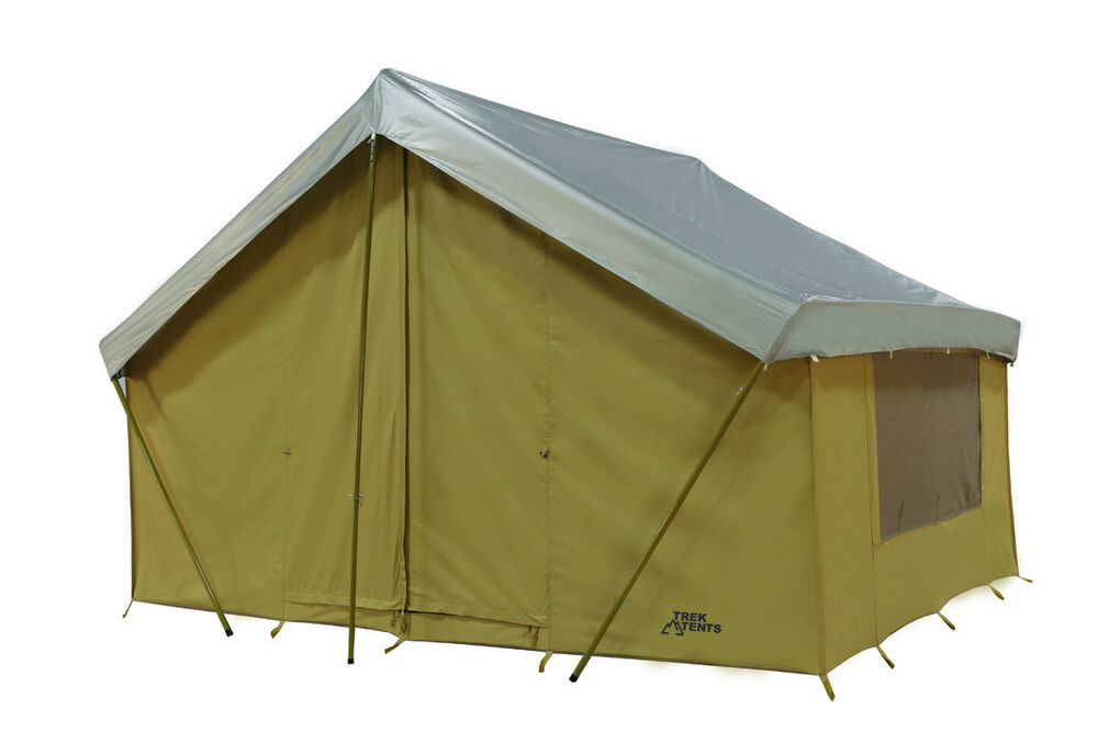 Base Camp New 12 39 X 9 39 Canvas Straight Wall Tent W Custom