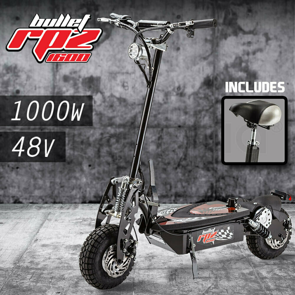 Scooter Turbo Friends: BULLET RPZ1600 Series 1000W Electric Scooter 48V