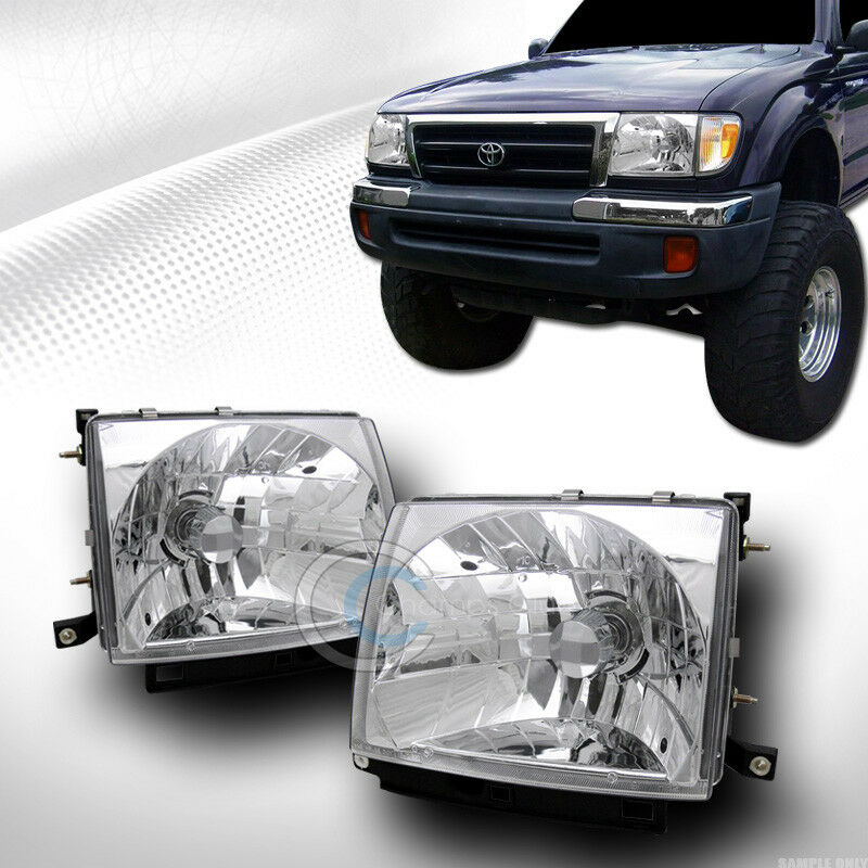 Jdm Sport Crystal Clear Headlights Lamps Ks L R 1997 2000