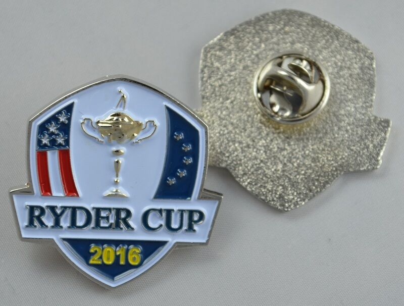 2016 ryder cup hazeltine lapel pin ebay. Black Bedroom Furniture Sets. Home Design Ideas