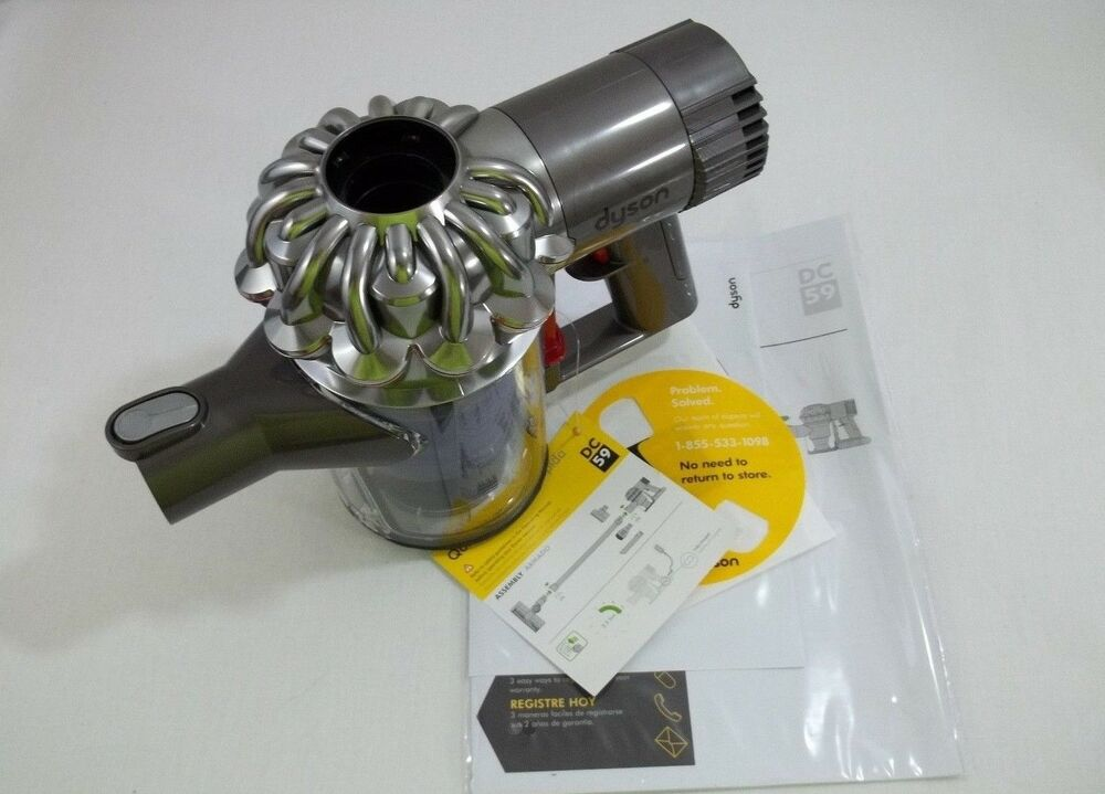 dyson dc59 dc62 animal vacuum motor cyclone assembly clear bin dc58 dc61 new ebay. Black Bedroom Furniture Sets. Home Design Ideas