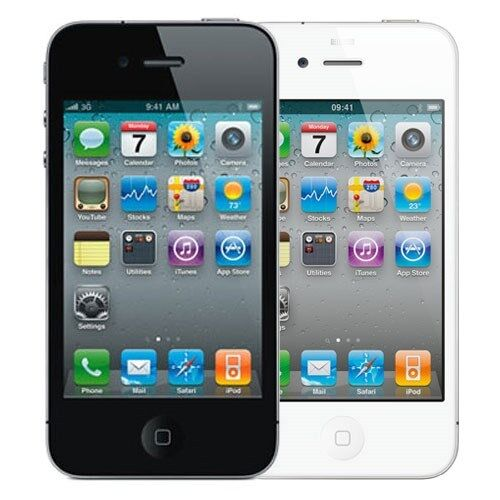 verizon wireless iphone apple iphone 4 32gb verizon wireless black and white 13239