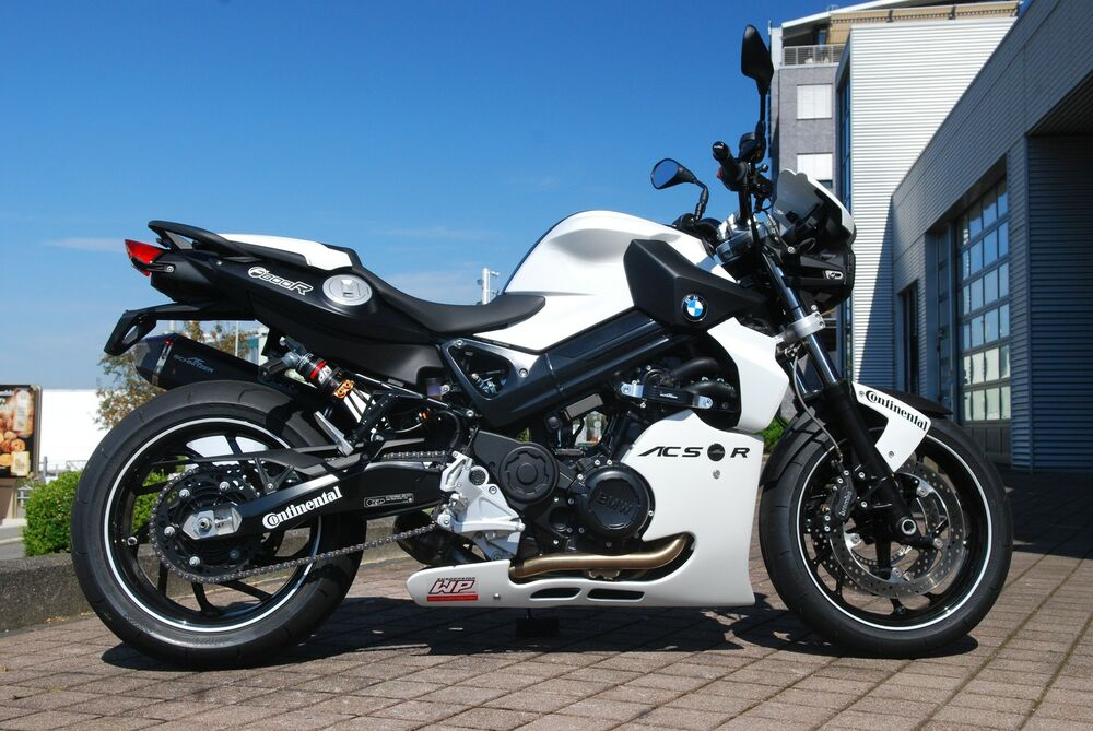 ac schnitzer motorspoiler bmw f 800 r ebay. Black Bedroom Furniture Sets. Home Design Ideas
