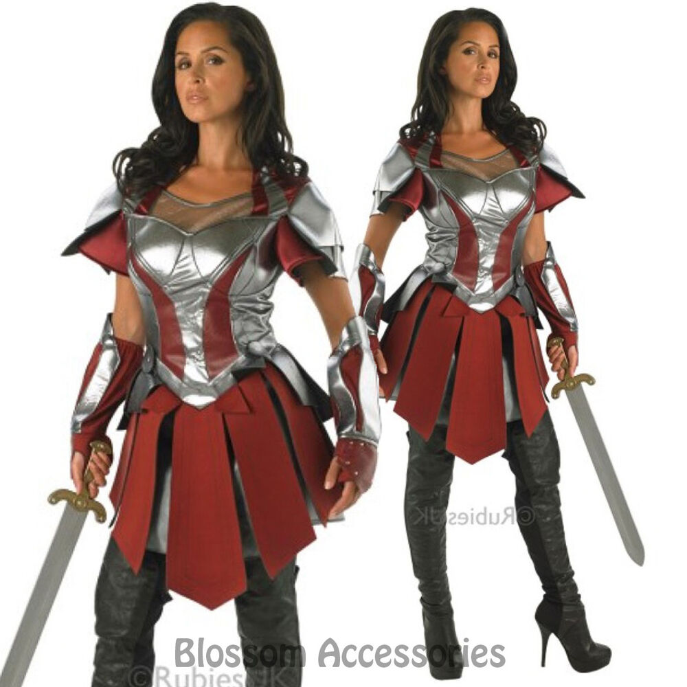 CL329 Ladies Thor 2 Sif Adult Costume Deluxe Marvel Fancy ...