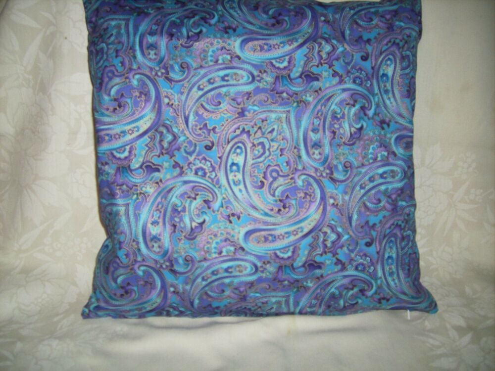 Blue And Lavender Throw Pillows : Accent Throw pillow COVER 16
