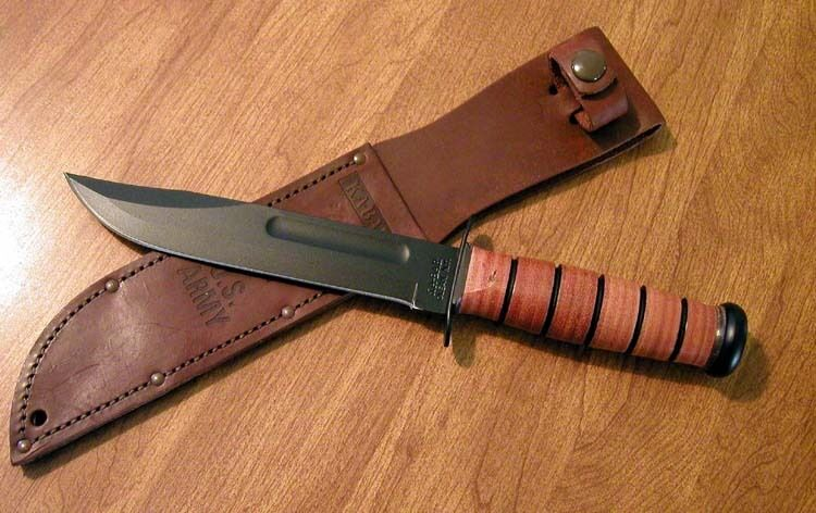 Kabar New U S Army Plain Edge Combat Utility Hunting
