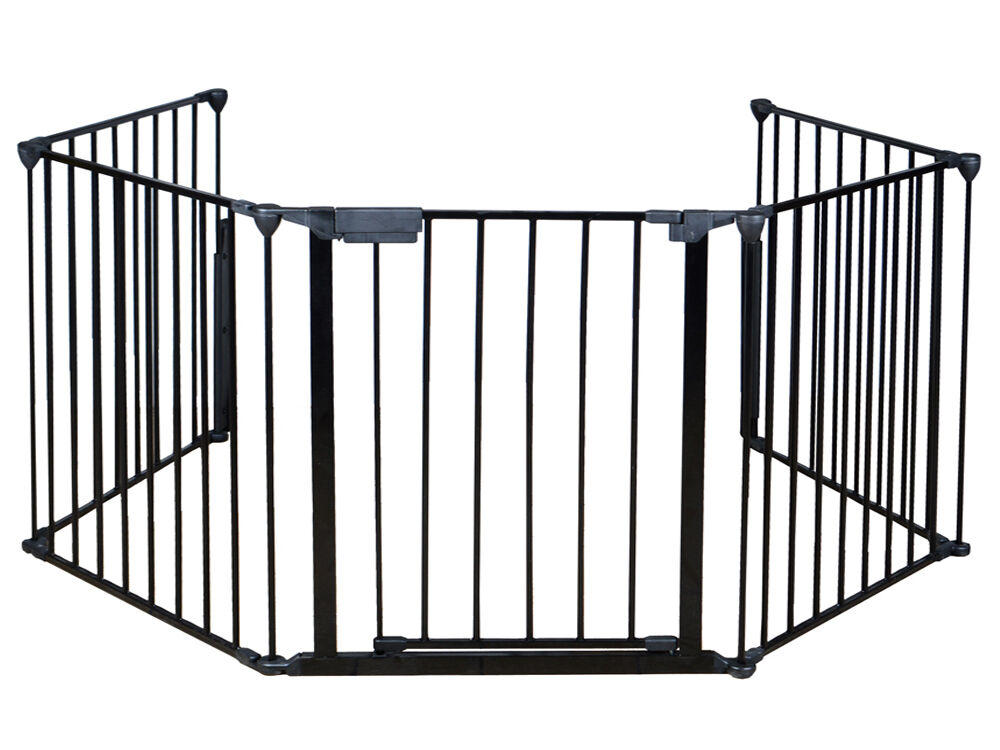 Baby Safety Fence Hearth Gate Bbq Metal Fire Gate
