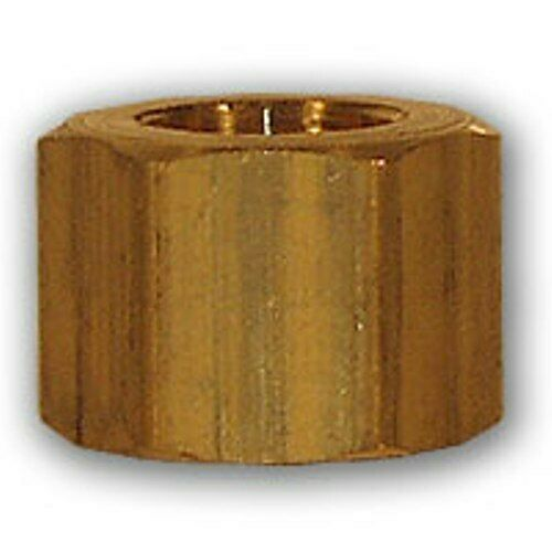 1 4 inch od brass compression nut soft copper pipe fitting for Copper pipe for water
