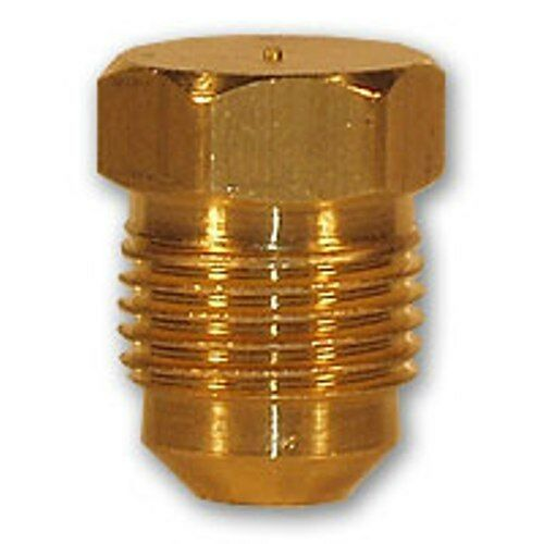 Inch flare plug brass pipe fitting npt soft copper air
