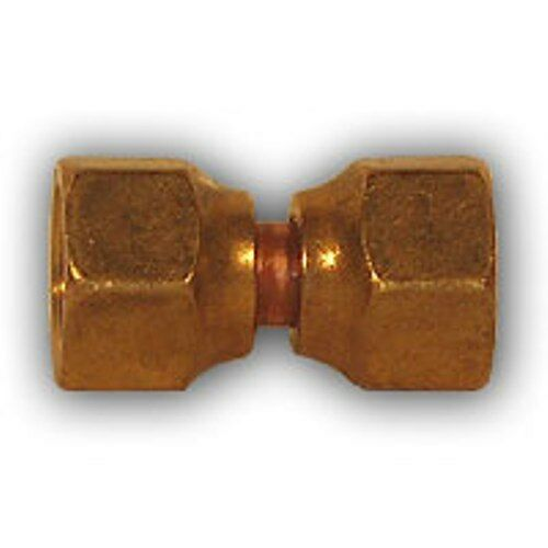 Pcs inch double female flare union brass pipe fitting
