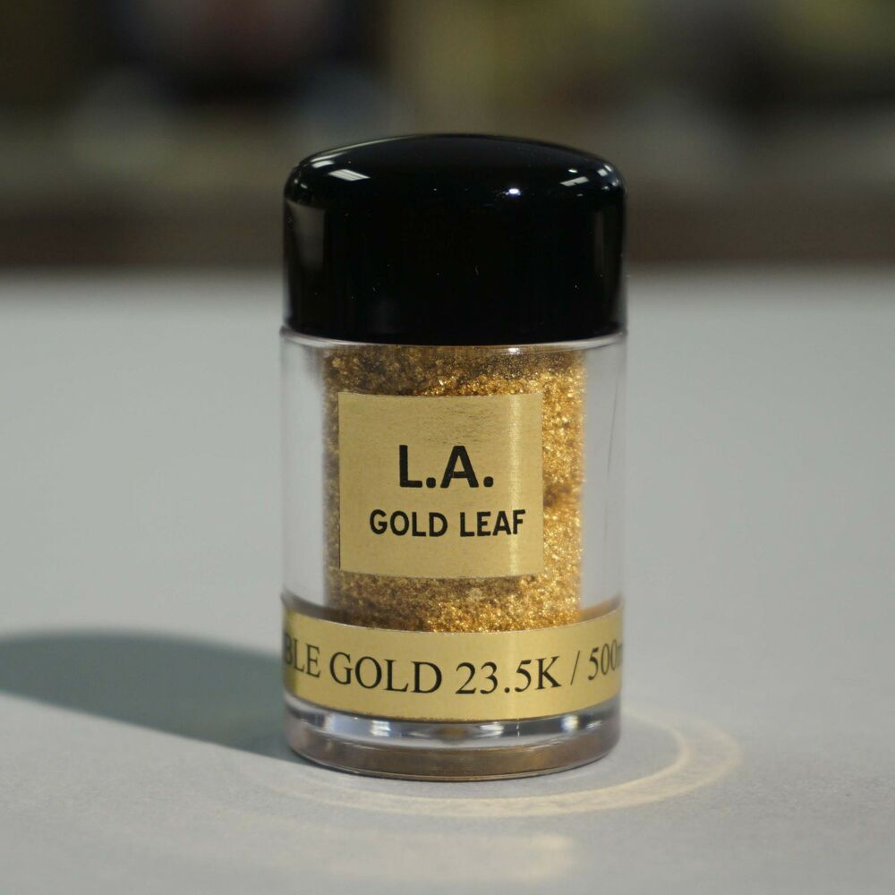 23.5K Edible Gold Dust Powder (200mg) -To Decorate foods ...