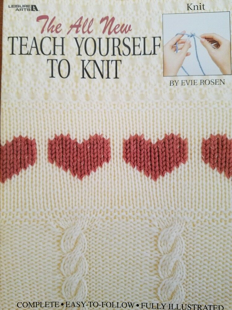 Knitting History Facts : Knit books on learning stitches leisure arts ebay