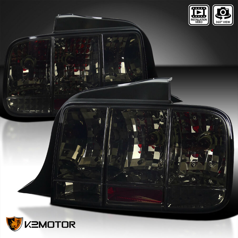 2005 2009 mustang sequential turn signal tail light brake lamp smoke. Black Bedroom Furniture Sets. Home Design Ideas