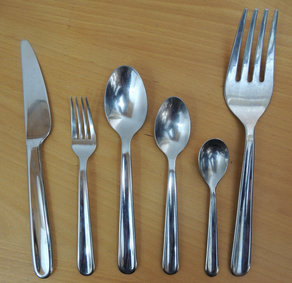 Gourmet settings stainless steel flatware diva your choice ebay - Gourmet settings silverware ...