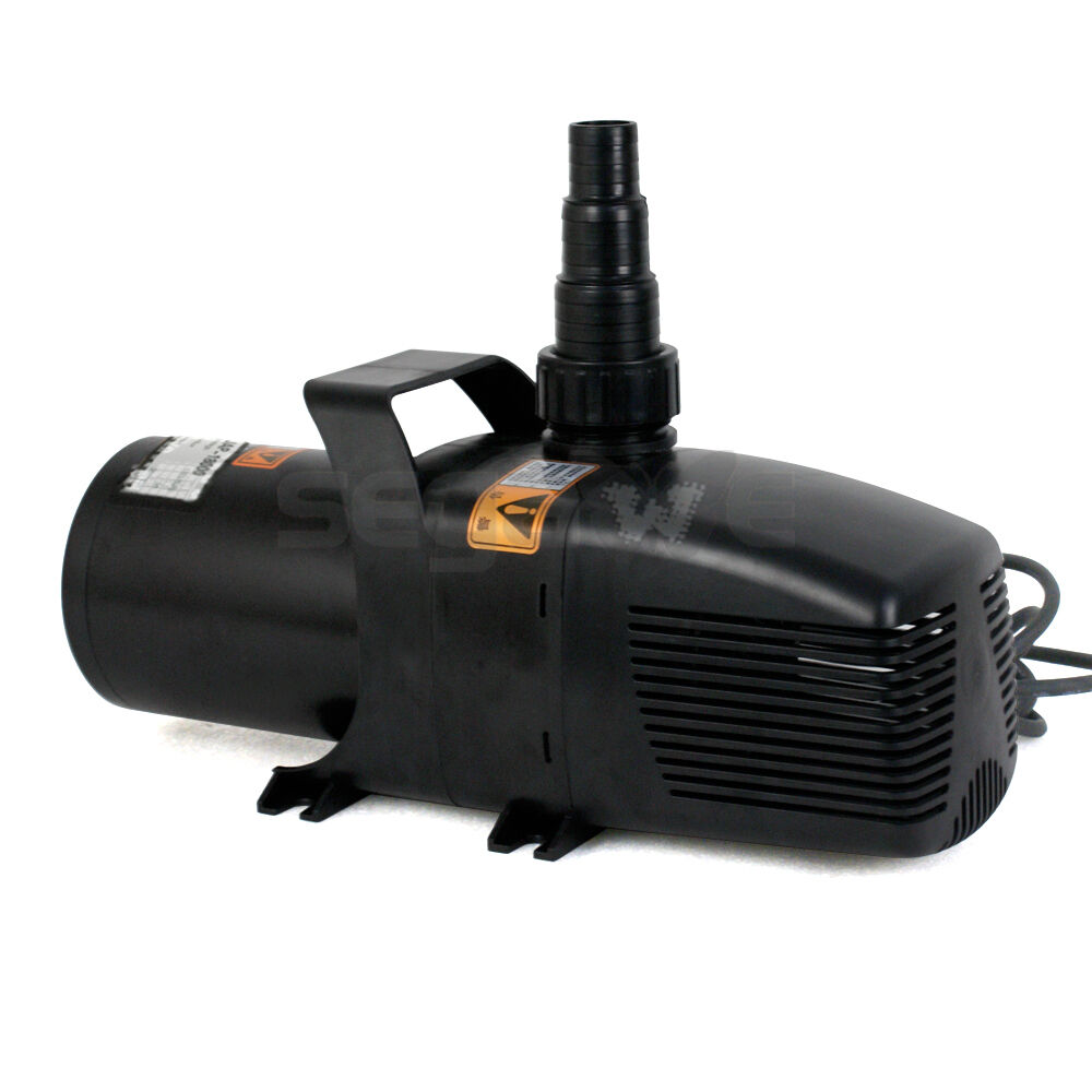 5283gph submersible pump for hydroponic pond fountain for Water pump for fish pond