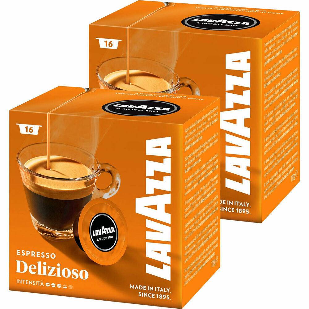 lavazza a modo mio 32 kapseln delizioso kaffee espresso ebay. Black Bedroom Furniture Sets. Home Design Ideas