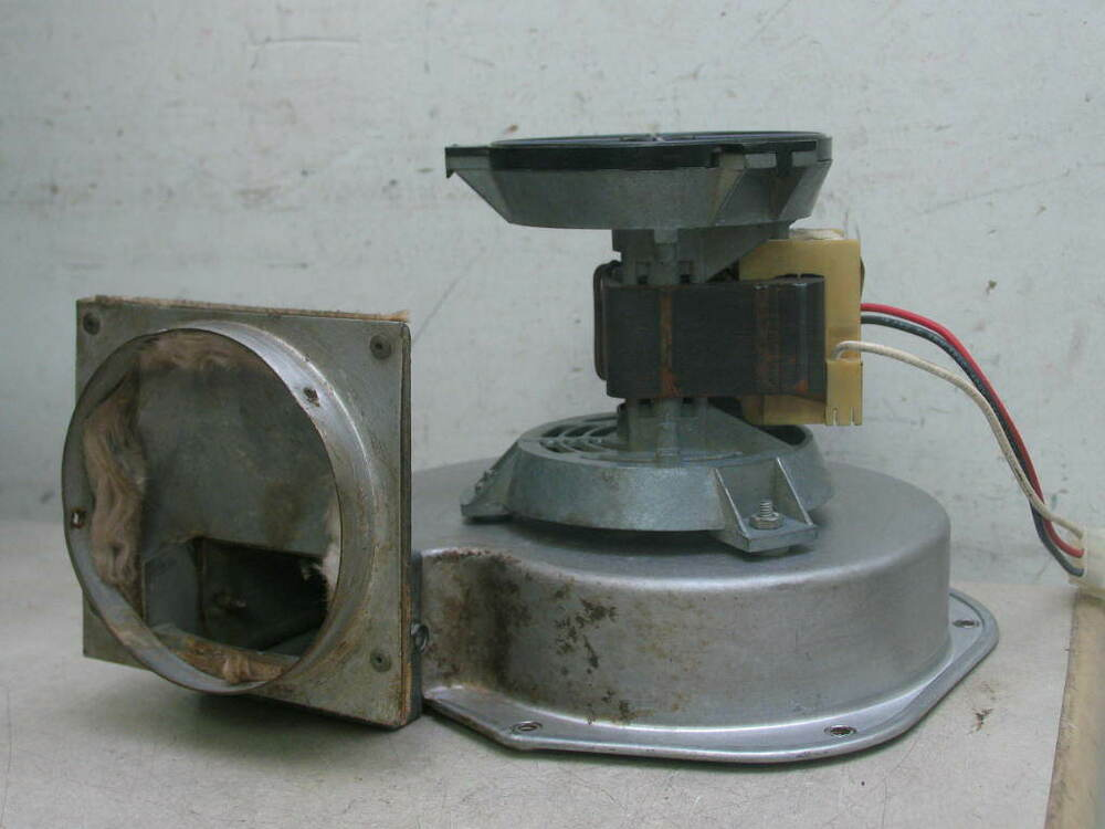 Fasco 7002 2531 furnace exhaust draft inducer blower motor for Lennox inducer motor assembly