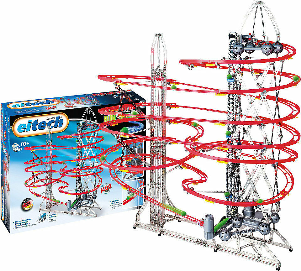 Marble Run Eitech C600 Run N Roll Metal Construction
