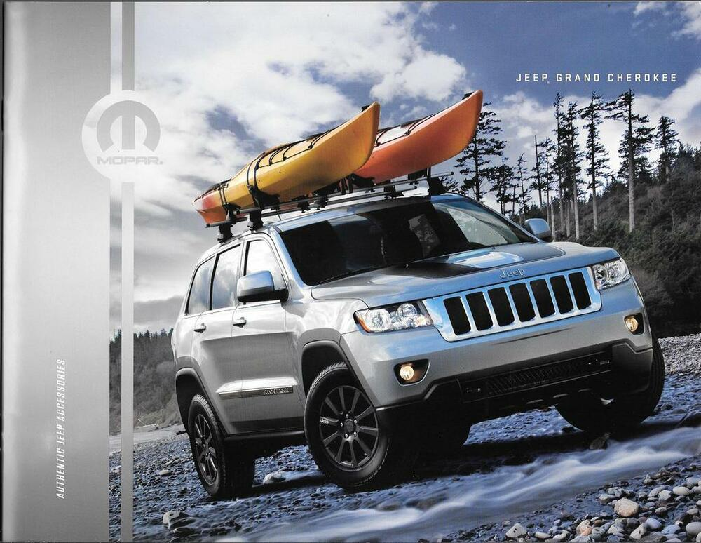 2013 13 jeep grand cherokee accessories original brochure ebay. Cars Review. Best American Auto & Cars Review
