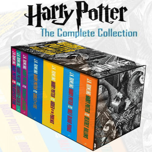 The complete harry potter boxed gift collection j k for Sejour complet harry potter