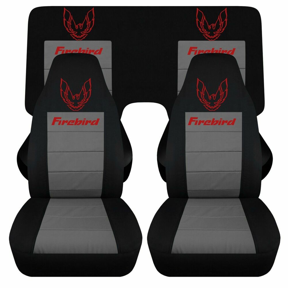 Jeep Tj 98 PONTIAC FIREBIRD TRANS AM CAR SEAT COVERS FRONT AND REAR ...