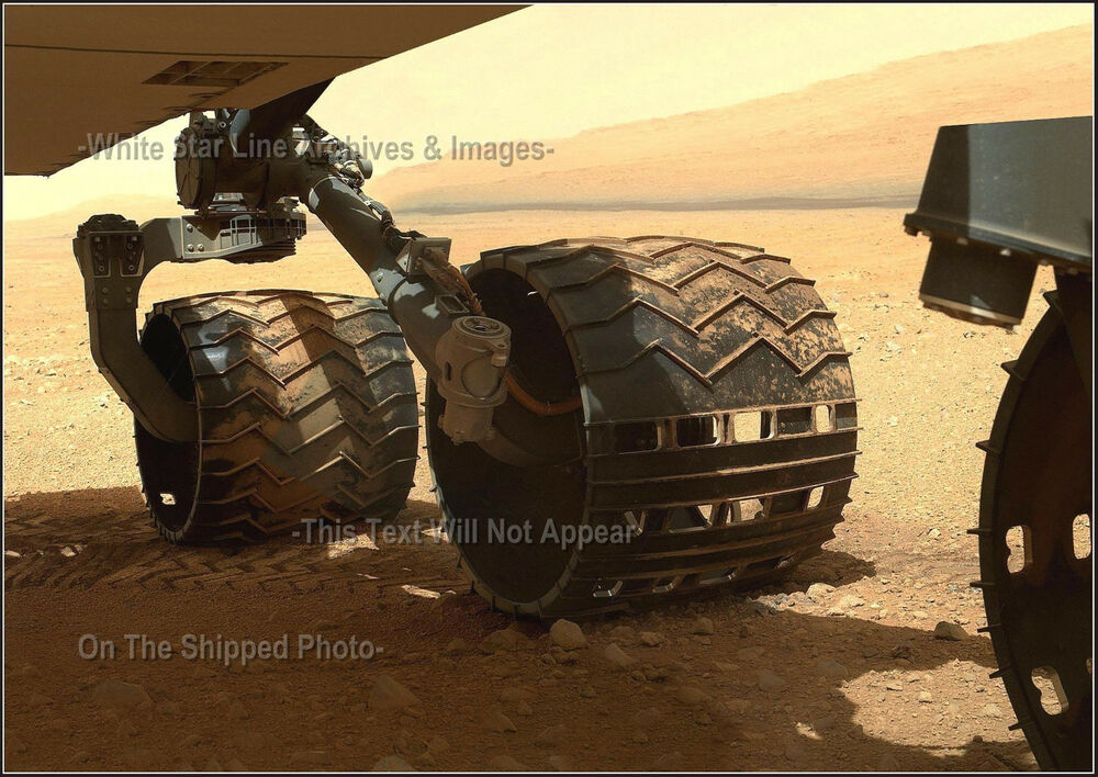 Mars Curiosity Rover: Wheel Check & Distant View Of Mount ...
