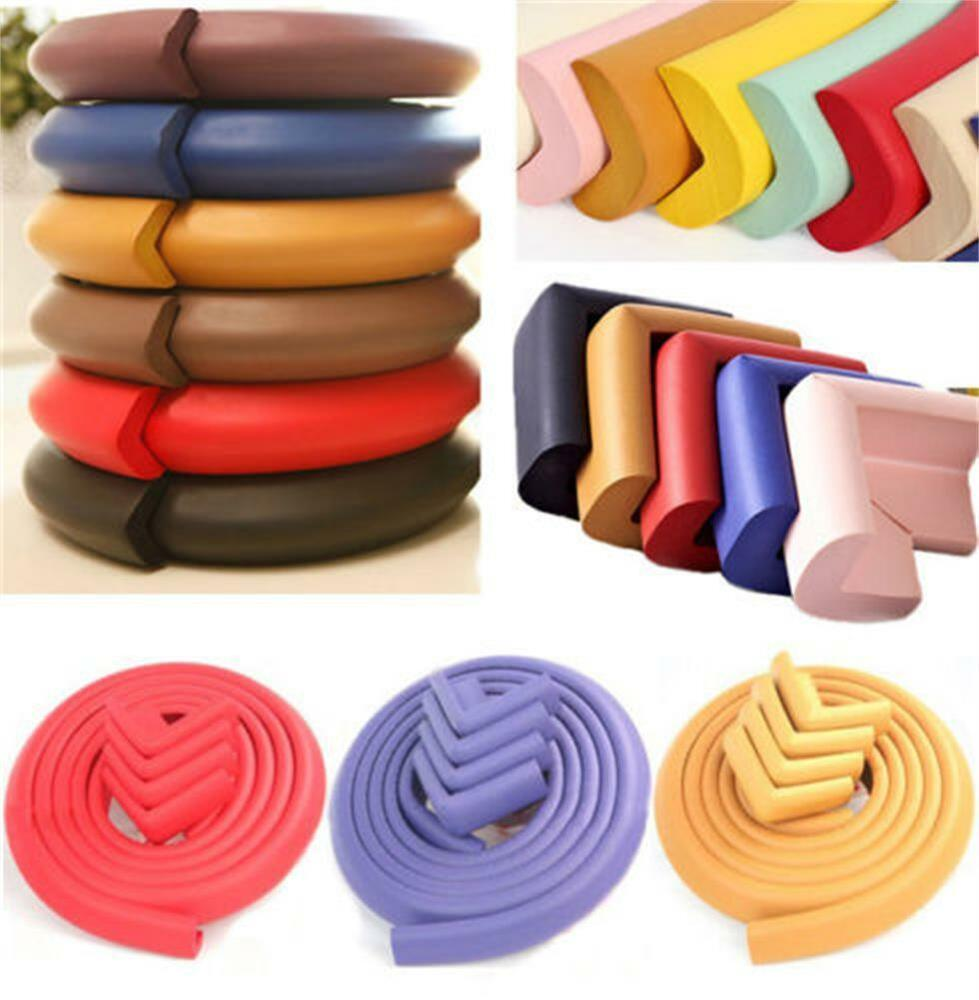 baby safety table desk edge guard protector bumpers corners cushion extra thick ebay. Black Bedroom Furniture Sets. Home Design Ideas