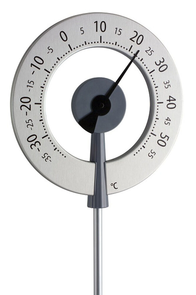 Garden thermometer lollipop weatherproof large for Thermometres exterieurs