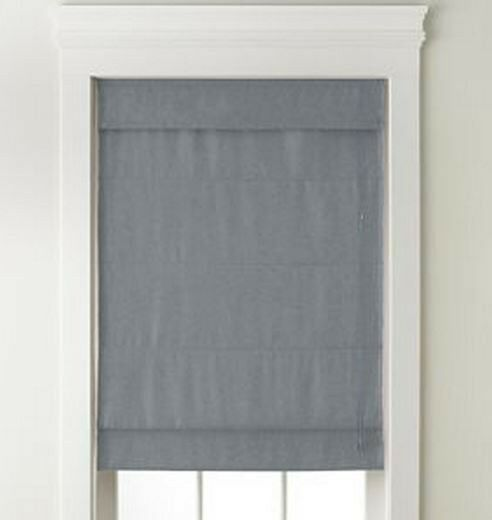 New With Defectstextured Blackout Roman Shade Blind Fabric