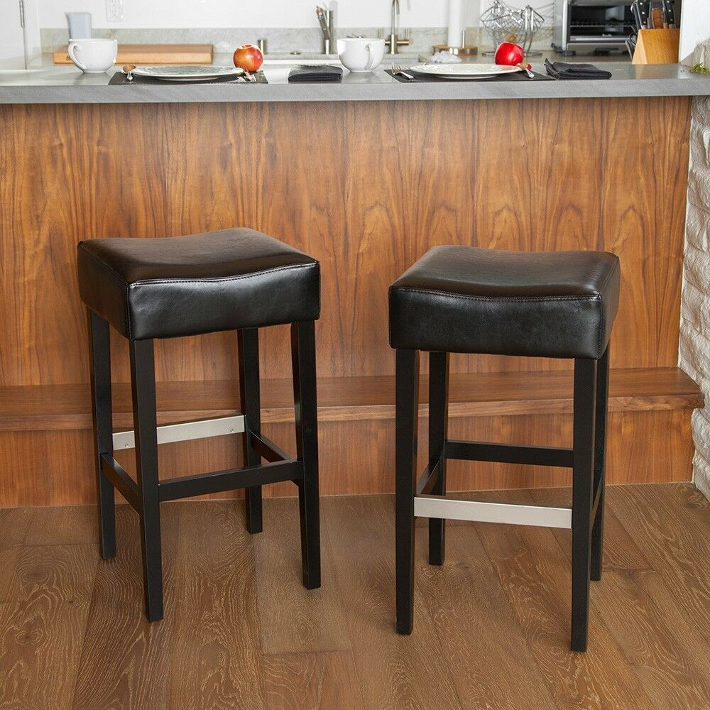leather bar stool covers