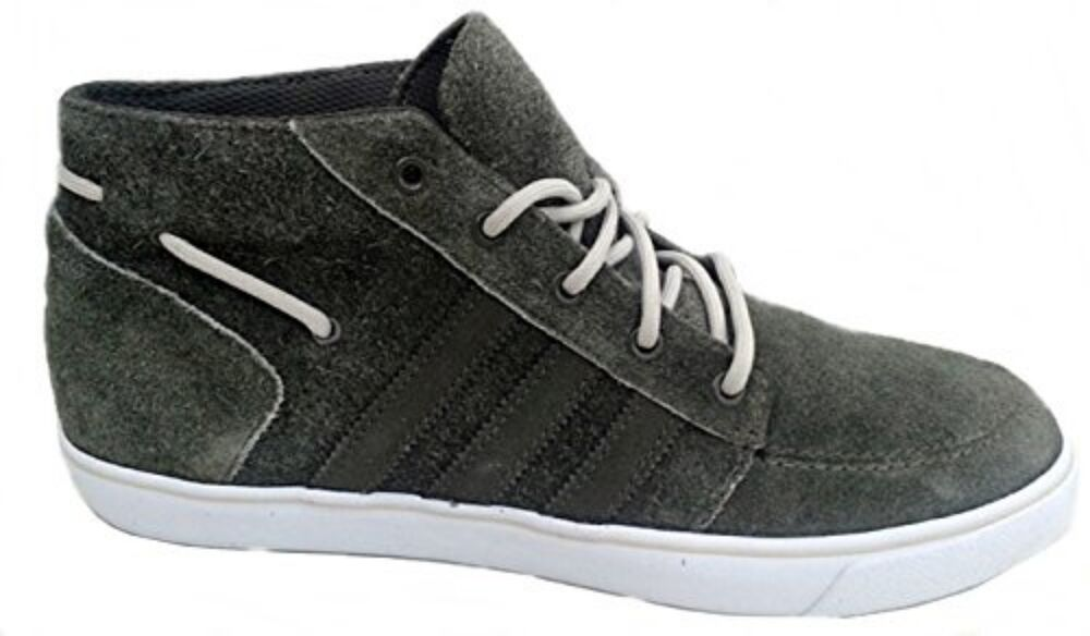 sports shoes 87a16 d8d86 Details about Adidas Originals Court Deck Mid Boots Casual Q22980 UK 6 TO  UK 12 Suede Green