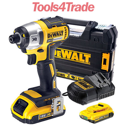Tools 4 Trade >> DeWalt DCF886D2 18V XR Brushless Impact Driver - 2 x 2Ah Batts in New Style Case | eBay