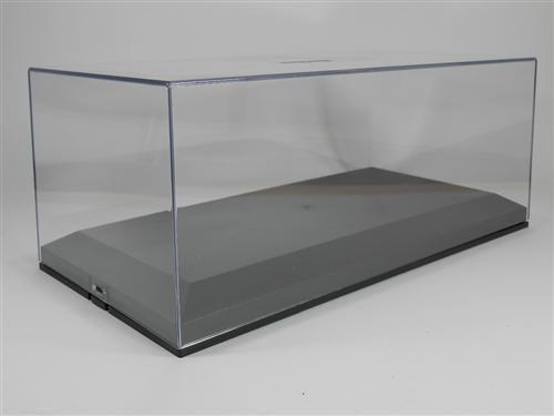 exclusive cars plexiglas vitrine 1 18 schwarz display case 1 18 black ebay. Black Bedroom Furniture Sets. Home Design Ideas