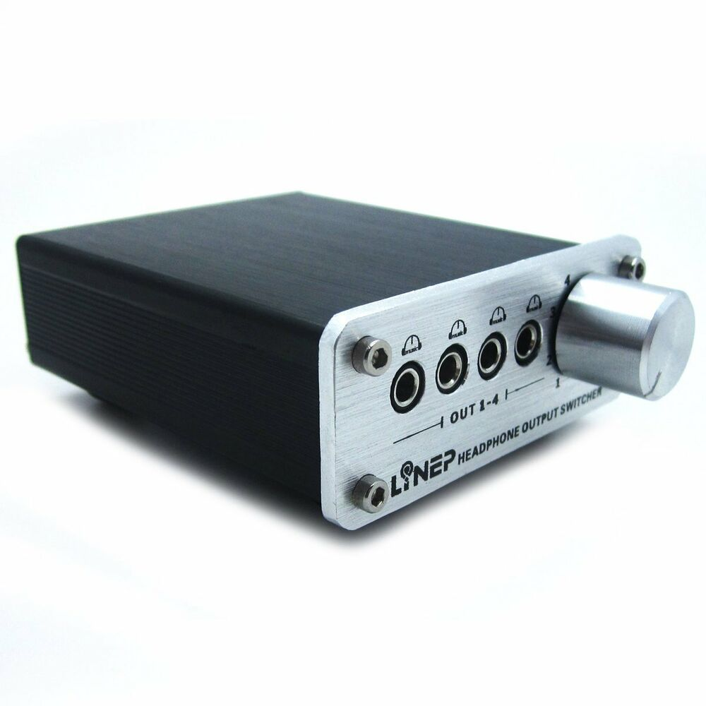 Audio Input Box : Input output audio sound video signal switch switcher