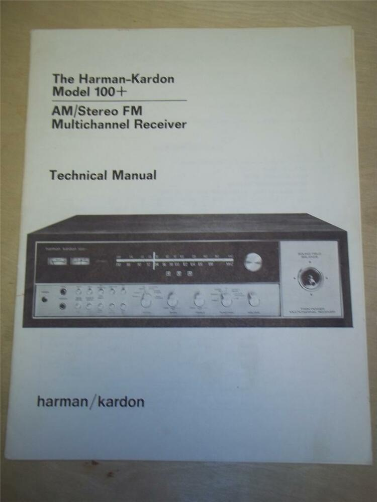 Harman kardon 330b Manual