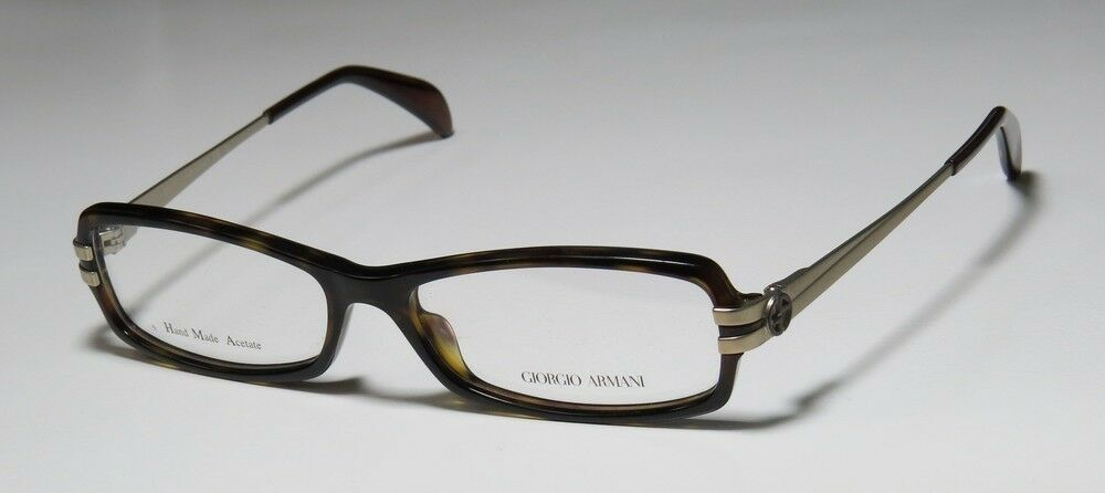 Eyeglass Frame New : NEW GIORGIO ARMANI 798 BLACK/SILVER HOT WOMENS DESIGNER ...