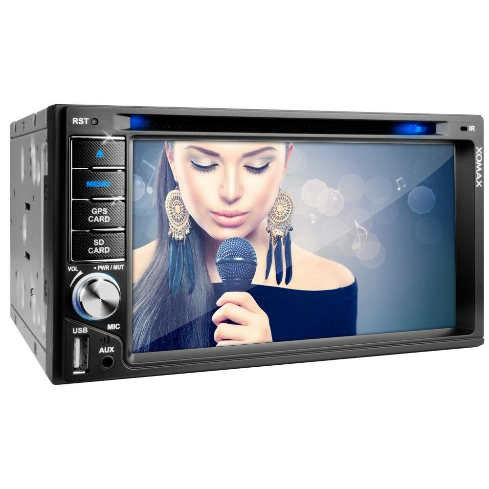 autoradio mit gps navi navigation bluetooth touchscreen dvd cd usb sd mp3 2din ebay. Black Bedroom Furniture Sets. Home Design Ideas