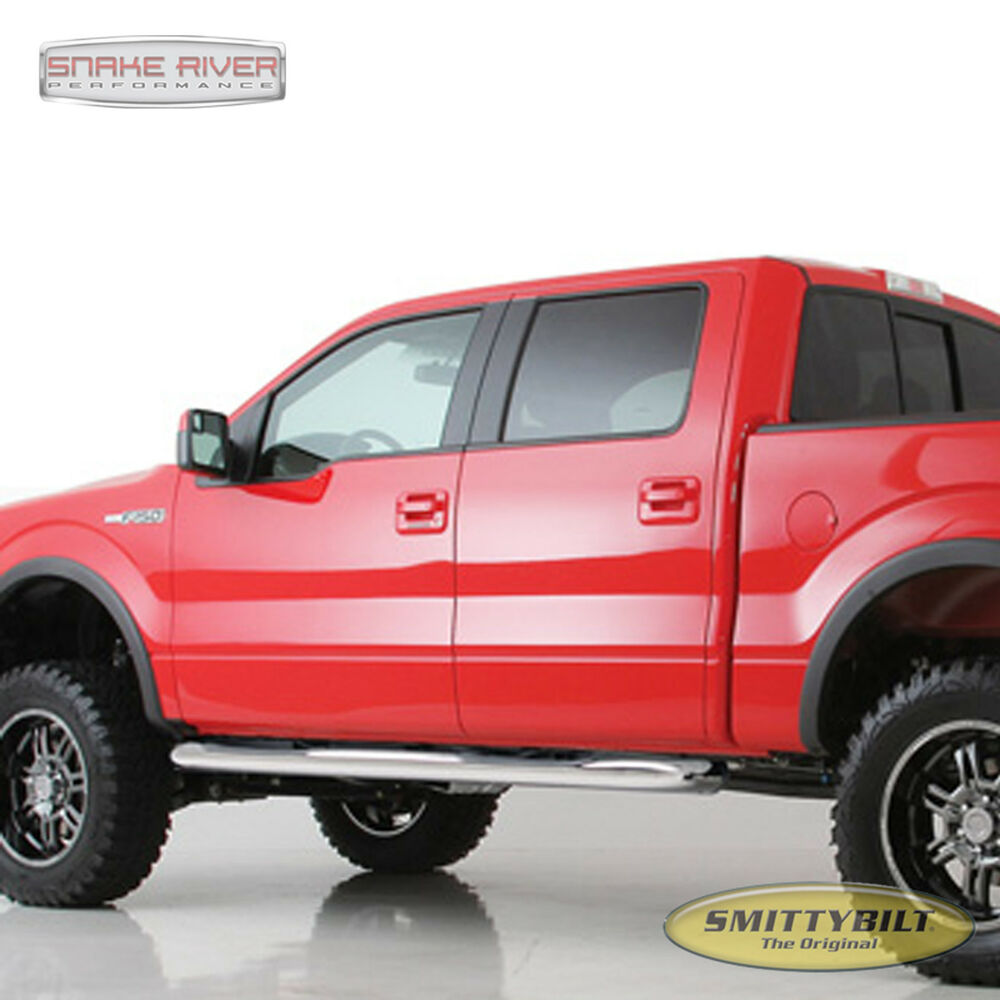 "SMITTYBILT 3"" NERF BAR RUNNING BOARDS 2006-08 DODGE RAM"