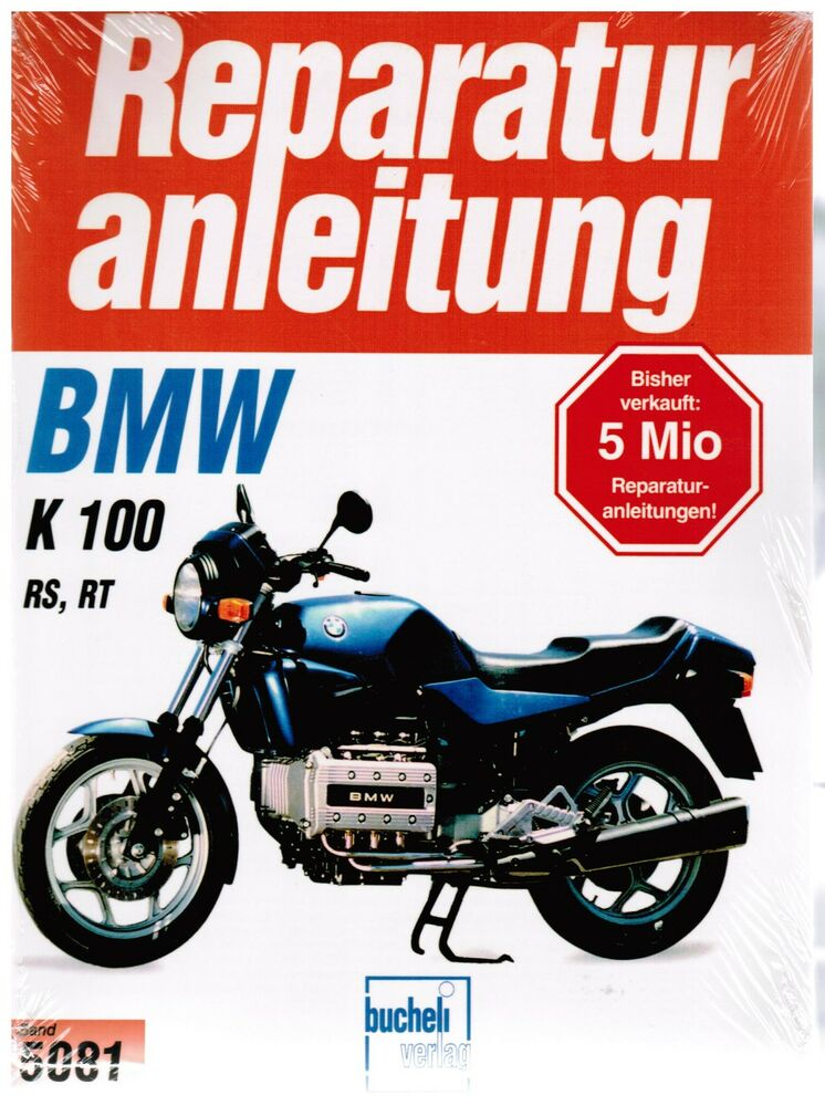 buch reparaturanleitung bmw k 100 rs rt k100rs k100rt. Black Bedroom Furniture Sets. Home Design Ideas